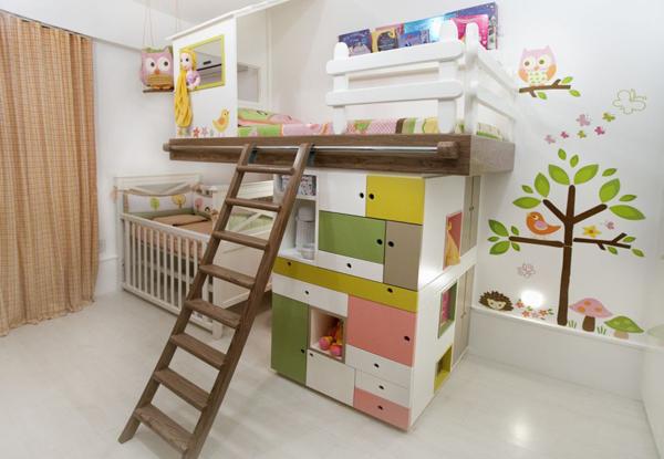Um bebê, uma criança e um só quarto keko Baby ~ Quarto Pequeno Para Bebe E Irmao