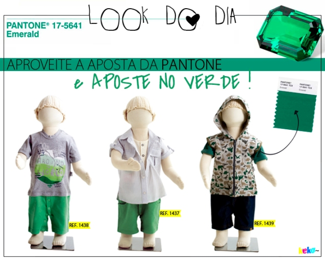 Look do Dia | O Verde do Ano