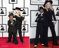 Madonna e seu filho David